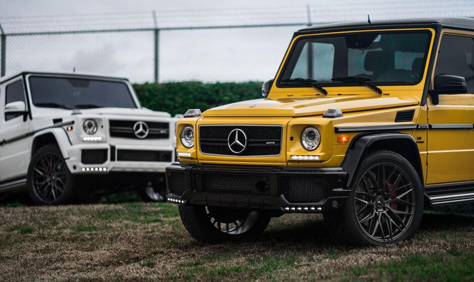 MercedesBenz Gclass G63AMG