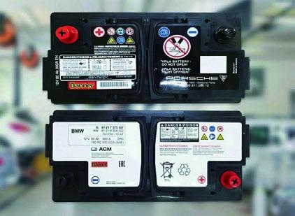 PORSCHEやBMWのバッテリーをOE生産