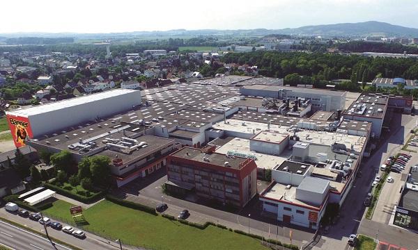 主要生産拠点であるオーストリアのリンツ工場